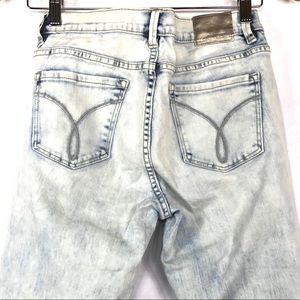 Calvin Klein CK Ultimate Skinny Acid Wash Jeans 30